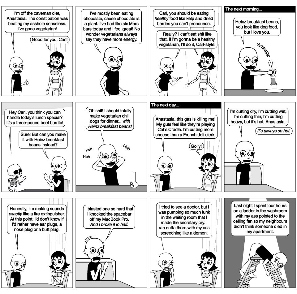 Carl Goes Vegetarian