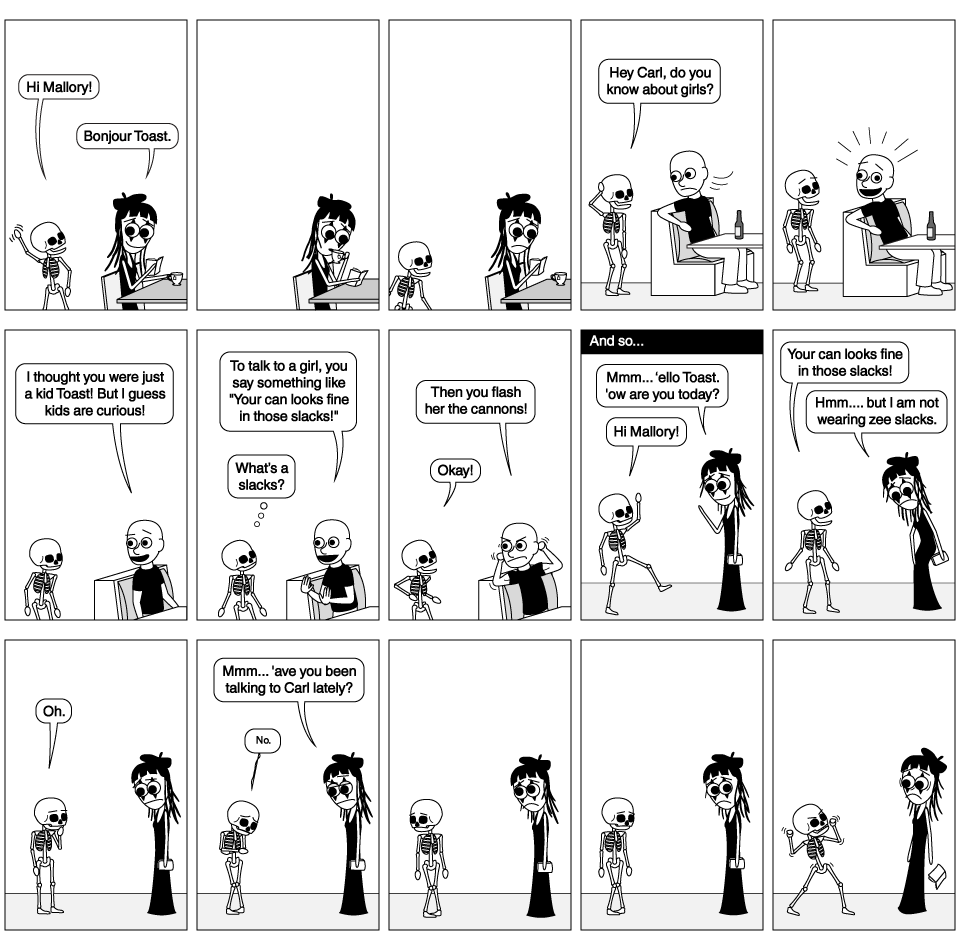 Toast and the Slacks